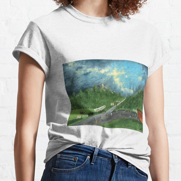 The Broad and Narrow Way - The Light of the Cross Classic T-Shirt