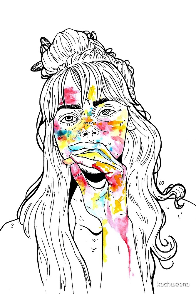 stains on skin by kachweena