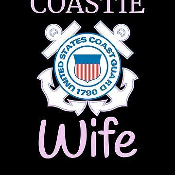 Coastie Wife Shirt US Coast Guard T Shirt by thehadgaddad