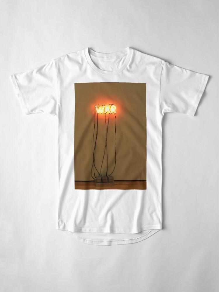 Vista alternativa de Camiseta larga GUERRA