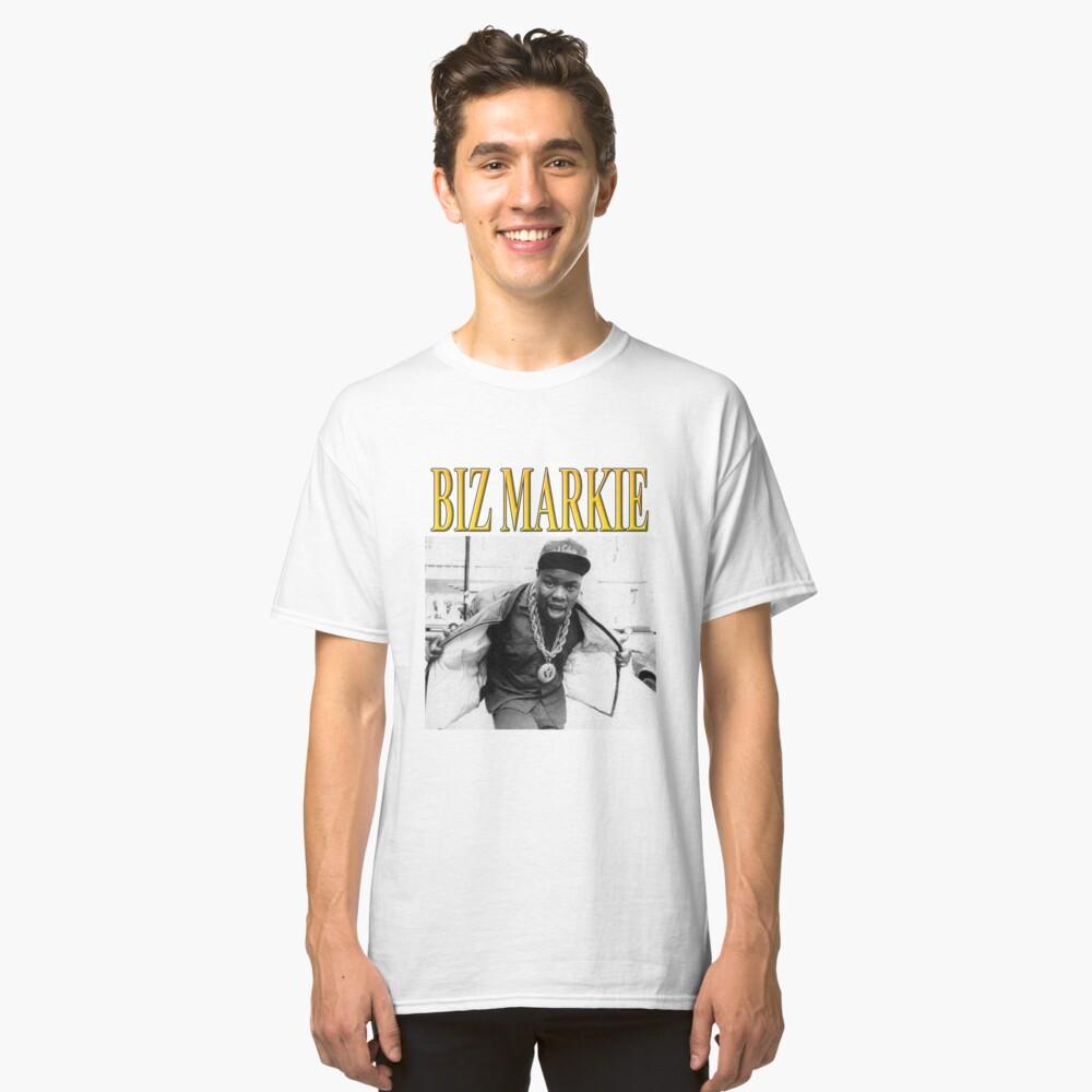 BIZ MARKIE // 1990s Hip Hop // Vintage Inspired Design Classic T-Shirt Front