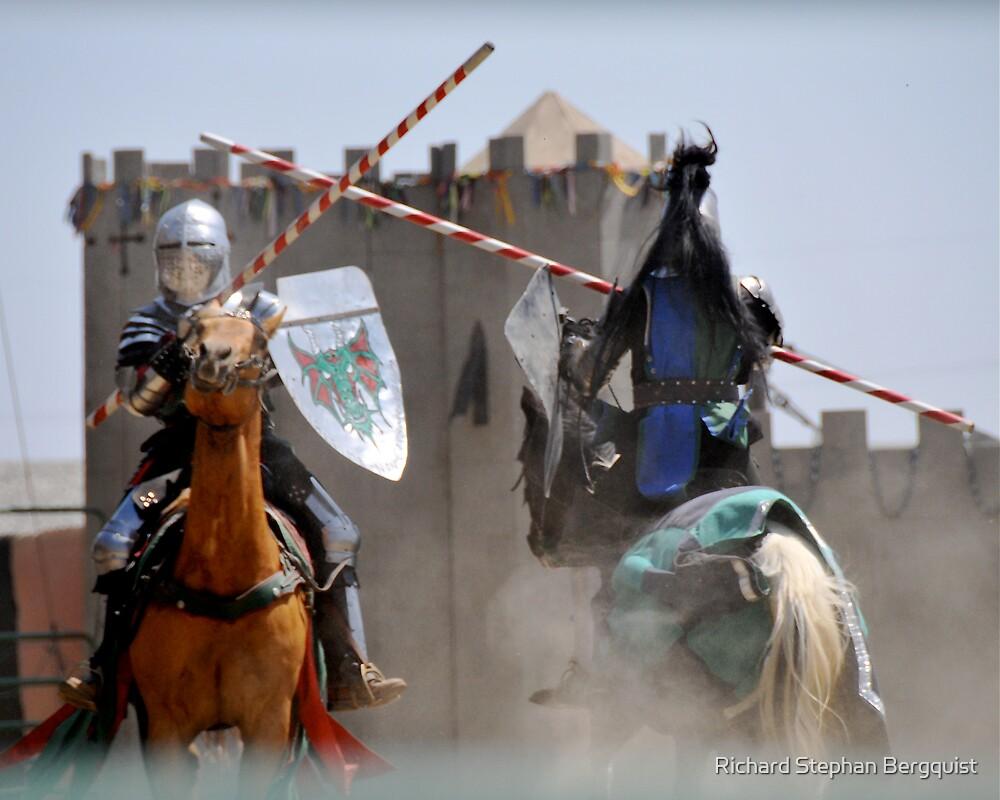 Knight Joust by Richard Stephan Bergquist