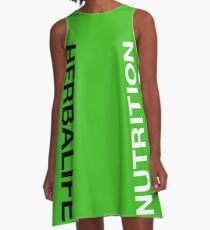 Herbalife Green A-Line Dress