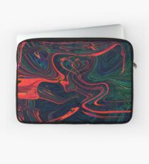 psychedelic waves Laptop Sleeve