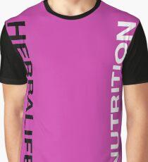 Herbalife Rosa Graphic T-Shirt