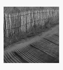 Shadow Lines Photographic Print