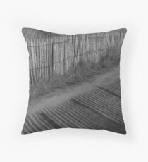 Shadow Lines Throw Pillow