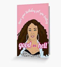 Lizzo Birthday Card Greeting Card