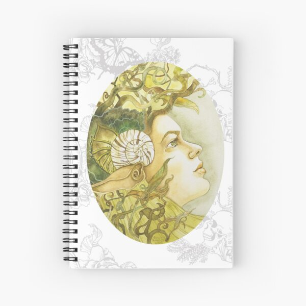 Spiral of Thought Spiral Notebook