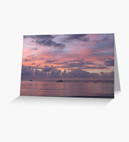 Pastel Sky Greeting Card