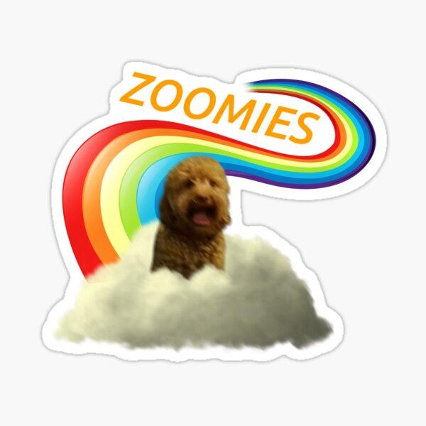 Zoomies Sticker