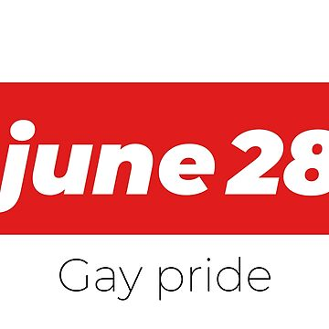 28 JUNE GAY PRIDE LGBT by revolutionlove