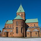 St. BENDT'S CHURCH, RINGSTED. DENMARK by hans peðer alfreð olsen