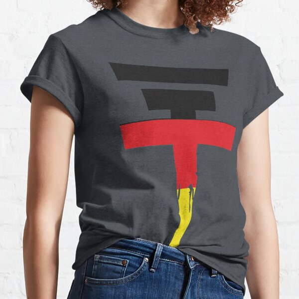 Tokio Hotel - drapeau allemand T-shirt classique