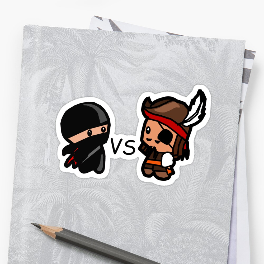 Ninjas V Pirates by Kimberly Temple