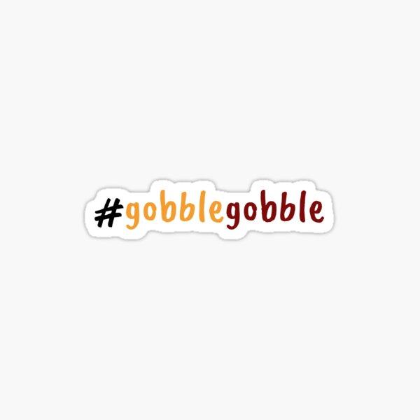 hokie gobble Sticker