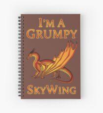I'm a Grumpy SkyWing Spiral Notebook