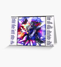 My Butterfly, Greeting Card