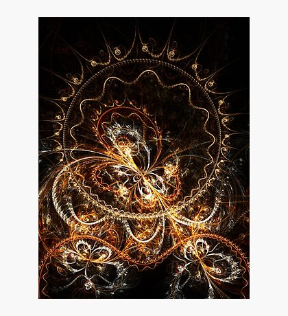 Butterfly - Abstract Fractal Artwork Photographic Print