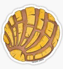 Pegatina Concha pan dulce - amarillo