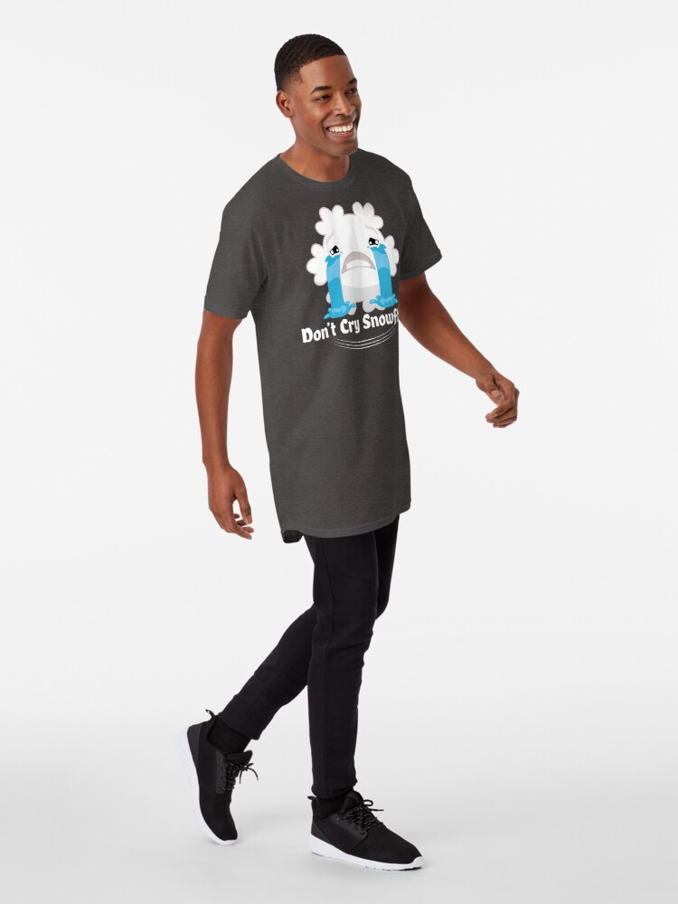 Alternate view of Don't cry snowflake Long T-Shirt