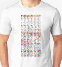 Pixel Art RPG Icons Unisex T-Shirt