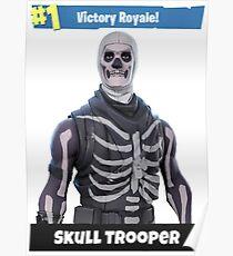 Fortnite - Skull Trooper (Victory Royale) Poster