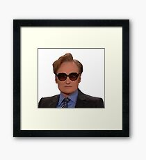Conan O'Brien Framed Print