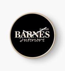 Barnes Interiors Clock