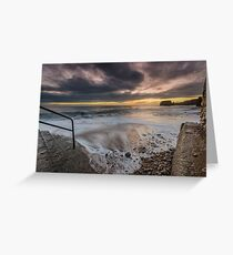 Stairway To The Surf Greeting Card