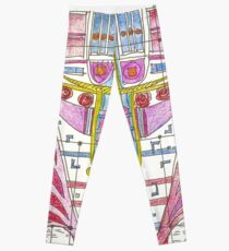 abstract VII Leggings
