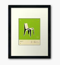 BOFINGER CHAIR (1966) Framed Print