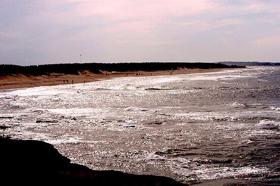 Shining Water - Cavendish Beach, PEI by Jeff Blanchard