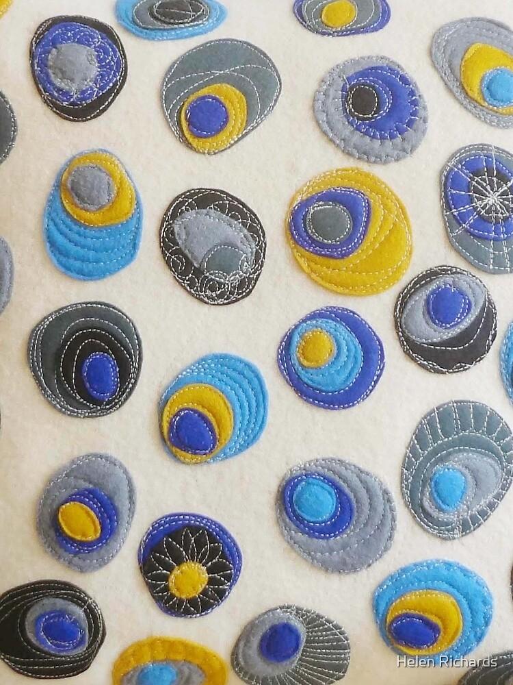 Sweet Pebbles - Blue  by helen121