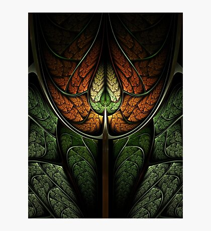 Elven Forest - Abstract Fractal Artwork Photographic Print