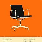 Aluminum Office Chair (1958) by JazzberryBlue