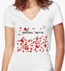 The Bachelorette Party Women's Fitted V-Neck T-Shirt