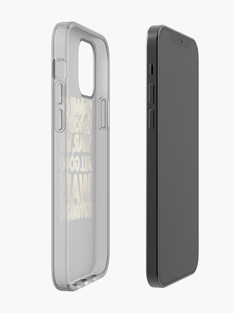 Alternate view of If one of us goes to war, we all go to war! McGregor Notorious iPhone Case & Cover