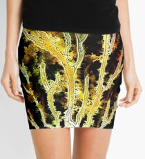 Gold Coral Mini Skirt