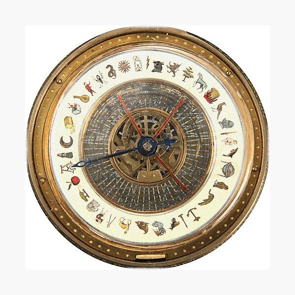 Golden Compass Alethiometer  Photographic Print