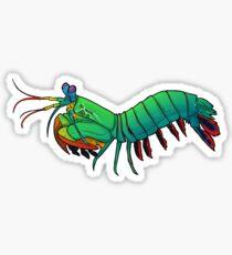 Friendly Mantis Shrimp  Sticker