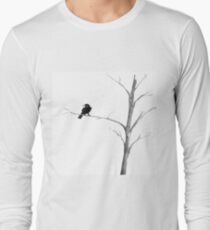 Raven in a Tree Long Sleeve T-Shirt