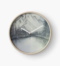 Mountains Clock