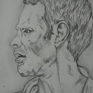 Ryan Giggs portrait by CollinClarke