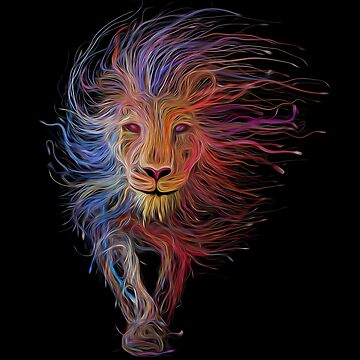 LION FROM ZION  by johnnyssandart
