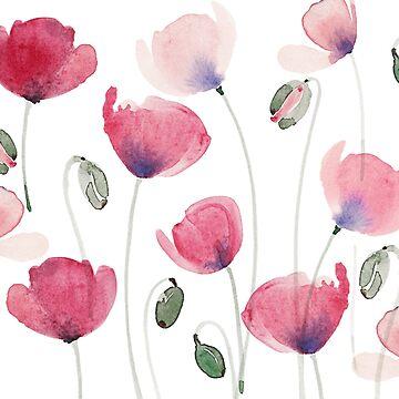 patterns Everyday | Poppy of Summer by jjsgarden