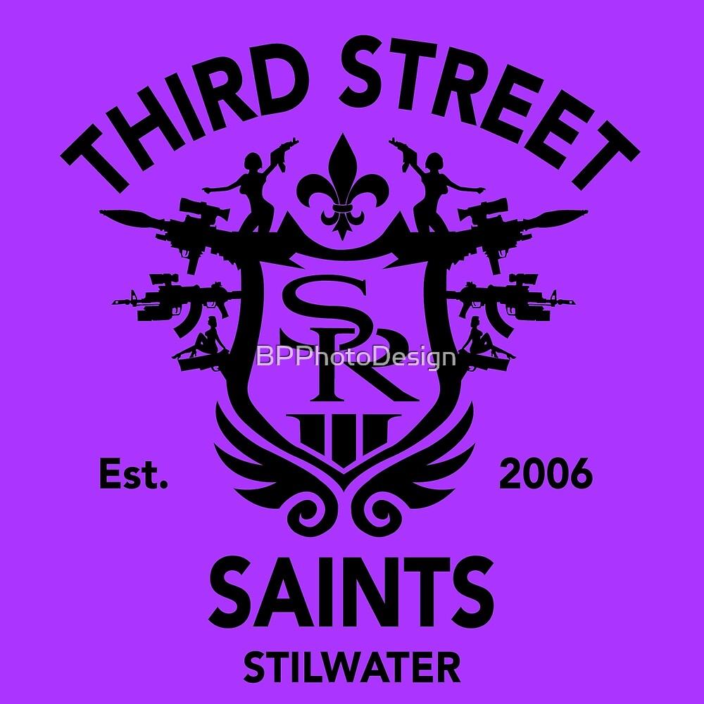 Saints Row 3 Emblem Tribute Black by BPPhotoDesign