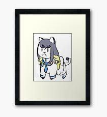 Kill la Kill: Catsuki Framed Print