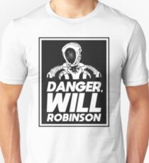 Danger, Will Robinson - Lost in Space Slim Fit T-Shirt