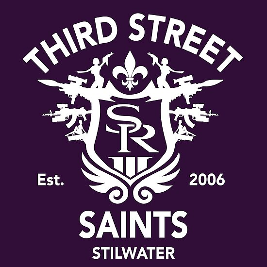 Saints Row 3 Tribute Emblem Posters By Bpphotodesign Redbubble
